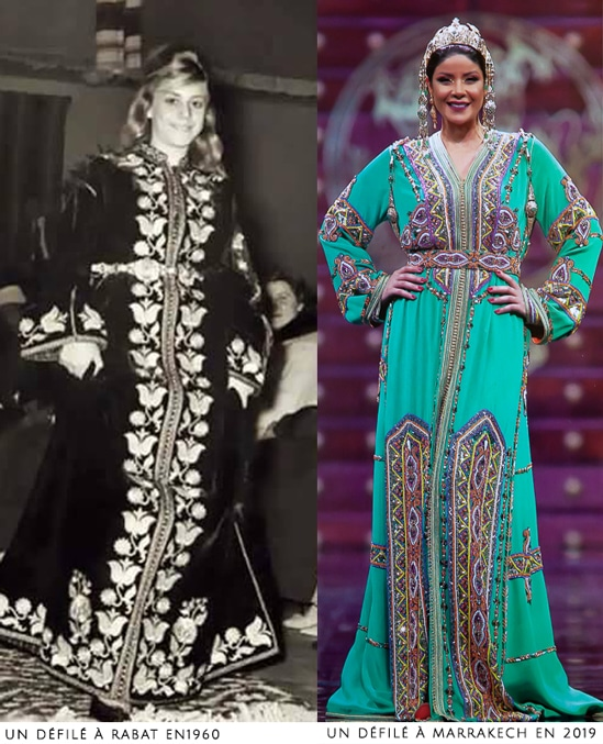 caftan marocain moderne et ancien